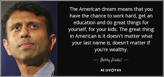 Quotes About The American Dream