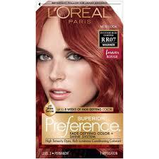 Loreal Paris Superior Preference Hair Dye Color Rr07 Intense
