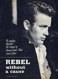 james dean in a wardrobe test for the film giant james  rebel out a cause a rebellious young man a troubled past comes to a
