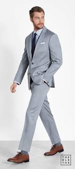 Light Grey Suit Rental Suit Up In Style The Black Tux Way Tuxedo Rentals Done