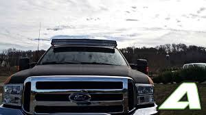 F350 Light Bar Roof Mount Ford Super Duty Double Stack Led Light Bar Roof Mounts For 54
