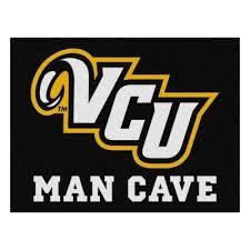 ncaa virginia commonwealth university black man cave 3 ft x 4
