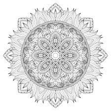 5 Free Printable Coloring Pages Mandala Templates The Maven Circle