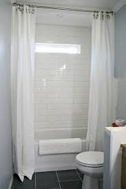 how to use ds on shower for double curtain look