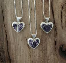 a perfect handcrafted gift for that special someone an small and simple sterling silver heart pendant