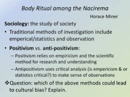 nacirema essay assignment doc body ritual among the nacirema horace miner