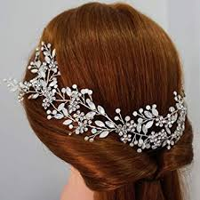 Boho Opal Crystal Bridal Hair Vine <b>Crown</b> Delicate Wired Wedding ...