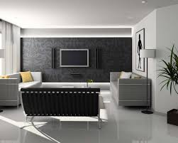 Modern Living Room Black And White Black And White Living Room Design And Ideas Inspirationseekcom