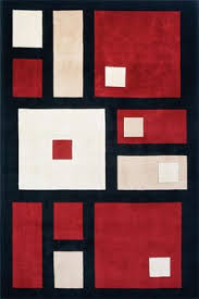 square rug design for your modern home red black white and pink squares on black white rug home