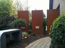 Stelen Aus Metall F R Garten Und Vorgarten