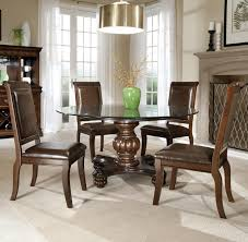 Round Granite Kitchen Table Remarkable Formal Dining Room Sets Design With Oversize Wooden