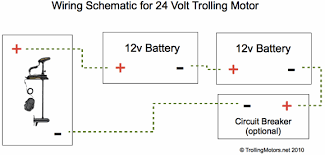 trolling motor electrical issues batteries, wiring and chargers 24 volt battery system diagram at 24 Volt Onboard Charger Wiring Diagram