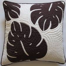 161 best images about Hawaiian Quilts on Pinterest   Wedding ... & Hawaiian Quilt 2 Pillow Covers, Cushions, 100% Hand Quilted/hand Appliqued  18 Adamdwight.com