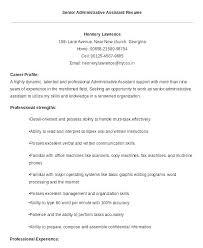 Key Skills Resume Administrative Assistant Idea Administrative Assistant Skills Resume Samples And