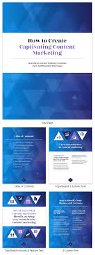 White Paper Templates Gradient Content Marketing White Paper Template