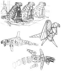 Journey. Pre-Development Sketches of 'The Cloaked Figure ...