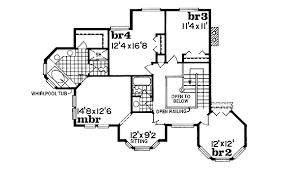 Rich Victorian Design   SH   nd Floor Master Suite  Butler    Reverse Floor Plan Pinit white