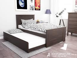 Bedroom:1 Single Bed With Trundle Brown Kids Bedroom Furniture Modern  Furniture Melbourne Solid Timber
