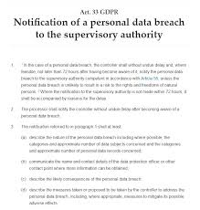 How To Write Gdpr Compliant Data Breach Notification Letters