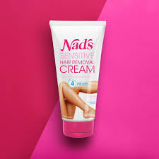 the dream cream nad s sensitive hair removal cream is designed for painless hair removal formulated with natural extracts of melon aloe vera