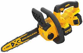 dewalt 60v chainsaw. dewalt 20v max chainsaw product shot 60v l