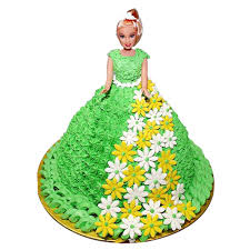 Beautiful Barbie Cake Chandigarh Cakes Delivery Home Delivery Of