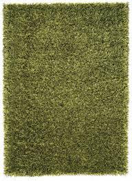 Schöner Wohnen Teppich Feeling Langflor Shaggy Uni grün