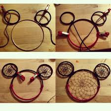 Mickey Mouse Dream Catcher Unique Process Of Mickey Mouse Dreamcatcher By Zane Nava Barefoot And