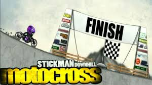 Stickman Downhill Motocross Special Future Bike Youtube