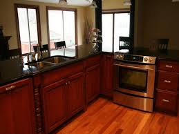 Kitchen Dark Oak Kitchen Cabinets Corner Kitchen Cabinet Dark