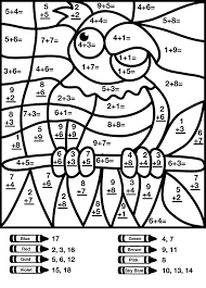 Small Picture 6 Images of Multiplication Hidden Coloring Pages Printable