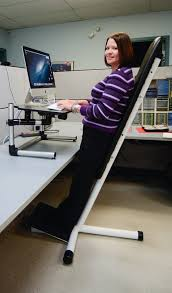 out standing invention replaces unhealthy chair for office workers standing desk chair