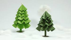 Paper Crafts For Christmas Paper Christmas Tree Craft Diy Christmas Tree Tutorial Youtube