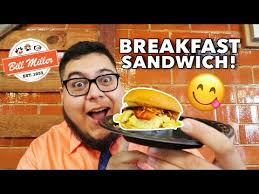 Does Bill Miller Bar B Qs New Breakfast Sandwich Bring The