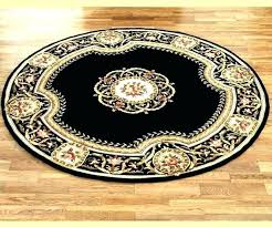 3 Foot Round Rug Floor Rugs 4 Feet Medium Size Of Decoration