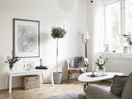 Living Room Corner Decor Creative Scandinavian Home Interior Combined With Plants Decor