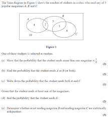 Venn Diagram Math Problems Exam Questions Venn Diagrams Examsolutions