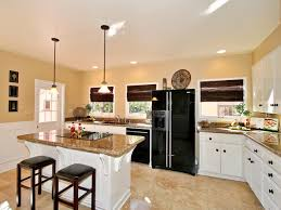 ... Eat In Kitchen L Shaped L Shaped Kitchen Remodel Ideas L Shaped Kitchen  Diner ...