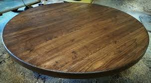 solid wood table tops for image of round solid wood table tops solid wood table