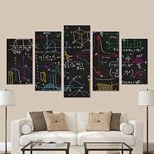 Modern Bedroom Wall Art Awesome Amazon InterestPrint Physical Formulas And Phenomenon Science
