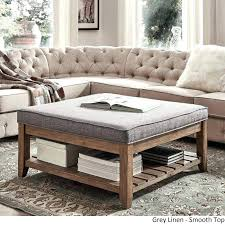 square leather storage ottoman square leather ottoman coffee table square leather ottoman coffee table best of
