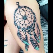 Purple Dream Catcher Tattoo 100 Meaningful Dreamcatcher Tattoos Ideas 42