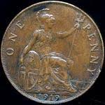 King George V Era Uk Penny Values 1911 To 1936