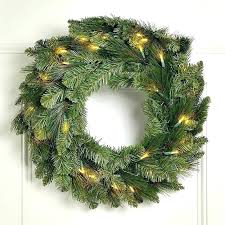 large lighted wreaths seashell artificial evergreen wreath extra by outdoor