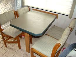 RV Parts USED RV FURNITURE FOR SALE DINING TABLE AND 4 CHAIRS