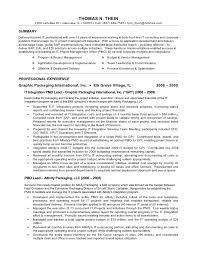 thein thomas n resume