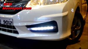 V655 Led Daytime Fog Lamp Honda City Ivtec By Mxsmotosport