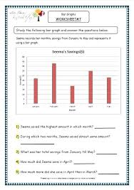 Bar Graph Worksheets Printable Graphs For Grade World Of And