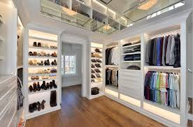 new york home depot closet transitional with built in storage metal skirt and pant hangers his her