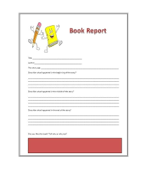 Free Book Report Templates Free Book Report Template Templates Reading Worksheets Beginner